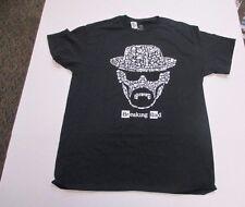 HEISENBERG Mens Shirt SMALL Tee T-Shirt BREAKING BAD NEW NWT Black Los Pollos