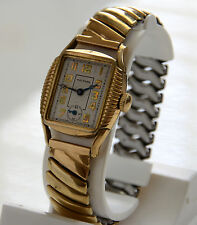 Vintage Waltham 7 Jewels 10K Gold Filled Men's Watch Runing Great!