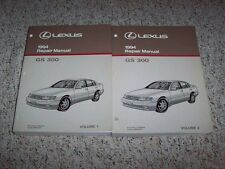 1994 Lexus GS300 GS 300 Workshop Shop Service Repair Manual Set Vol. 1-2