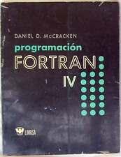 PROGRAMACIÓN FORTRAN IV - DANIEL D. McCRACKEN - ED. LIMUSA MÉXICO 1977 - VER