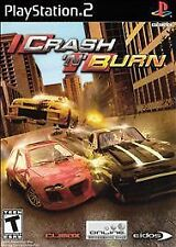 Crash 'N' Burn (Sony PlayStation 2, 2004) - Disc Only Game- PS2 Free Shipping!