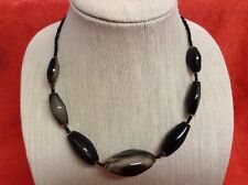 African-Arena Handmade Maasai Tribal Horn Bone Polished Jewelry Necklace AA114
