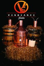 20 Gallon Copper Moonshine Still Kit, ON SALE FOR THE MONTH OF APRIL