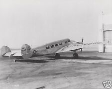 DELTA AIR LINES LOCKHEED ELECTRA SHIP 22 - PARKED RH  - BLACK & WHITE 8 X 10