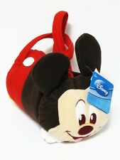 Mickey Mouse Cylinder Plush Handbag Purse Bag Disney