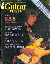 1980 Guitar Player Magazine: Jeff Beck/Michael Gregory Jackson/Manuel Barrueco