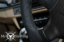 FITS HONDA FR-V 04-2009 PERFORATED LEATHER STEERING WHEEL COVER DOUBLE STITCHING