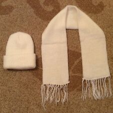 Women's winter hat and scarf set