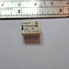 G6L-1P-12vdc (2 pcs) Omron Relay / 12VDC Coil  SPST  PCB Mount