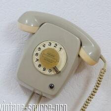 Hagenuk Wählscheibentelefon mit Schauzeichen FeWAp 615-1 Grau Hochglanz Bj. 9.69
