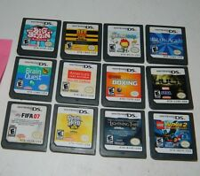 Lot of 12 Nintendo DS Games DSi Scribblenauts Lego Batman (C)