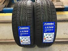 X2 185 55 15 185/55R15 82V LANDSAIL HIGH MILEAGE TYRES C,C RATED VERY CHEAP