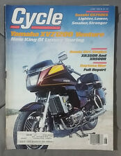 1983 JUNE CYCLE MAGAZINE YAMAHA XVZ1200 VENTURE HONDA XR350R XR500R GS750ES