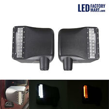 2x LED Car Rearview Side Mirror Turn Signal Light For Jeep Wrangler JK 07-15