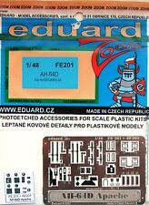 Eduard 1/48 FE201 Colour Zoom etch for the Hasegawa AH-64D Apache Longbow Kit