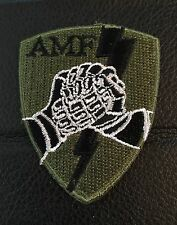 NORWAY ARMY PATCHES - INTERNATIONAL OPERATIONS ALLIED MOBILE FORCES (AMF) -