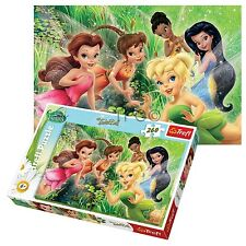 Trefl 260 Piece Kids Girls Disney Tinkerbell Fairies Fun Flying Jigsaw Puzzle