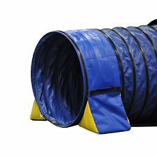 Dog Agility Tunnel Training Outdoor Pet Runner Equipment Exercise Puppy Open