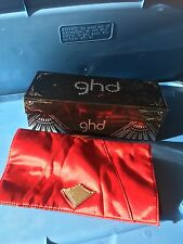GHD Hair Straightener Scarlet Collection Box & Heat Resistant Bag Box & Mat Only