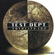 Test Department Totality 1 & 2: The Mixes CD *SEALED* Dept