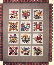 Stitch in Thyme - applique & pieced wall quilt PATTERN - Lori Smith