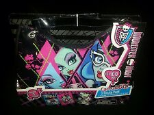 Disney Monster High Carry And Go 3 Puzzle Pack And Purse New