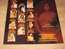2003 Mystique Pin Up Girls Calendar/Playboy Playmate Tailor James/Aria Giovanni