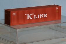Walthers 933-3404, Spur N,  40´HI-Cube Container K-Line, rot