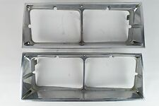 1982-1988 Oldsmobile Cutlass Supreme Calais Coupe Sedan Headlight Bezel Chrome