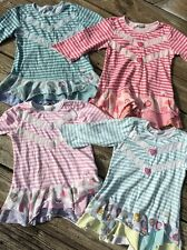 NAARTJIE Girls Tunic Tops Sz 8-9 Lot Of 4 Pcs.