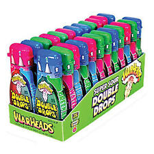 NEW Warheads Double Drops Super Sour Liquid Candy 24ct Best Before Jan/2019