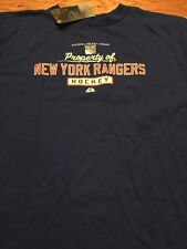 NWT Youth Size XL NHL New York Rangers Shirt By Majestic