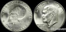 1976 S 40% Silver Eisenhower Dollar Gem Bu