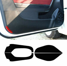 4D Carbon Door Protect Anti Scratch Cover Black 4p For 2011-2013 Kia Optima : K5
