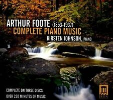 Arthur Foote: Complete Piano Music *New CD*