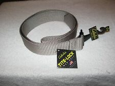 "Cabela's Tite-Lock Web Belt - Desert Sand - Size XL NWT Fits up to 46"""