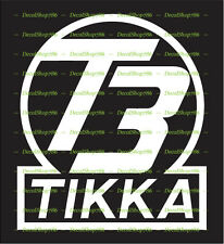 Tikka T3 Firearms - Outdoor Sports / Hunting - Vinyl Die-Cut Peel N' Stick Decal