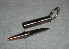 """NEW HQ Issue Bullet Knife Keychain (1 1/2"""" blade)"""