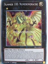 Yu-Gi-Oh - 1x Nummer 100: Numerondrache - DRL3 - Dragons of Legend Unleashed Sec