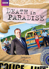 Death in Paradise: Season Two (DVD, 2014, 2-Disc Set) Ships First Class