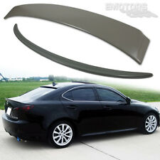 FOR LEXUS IS250 IS350 OE TYPE 4DR TRUNK & ROOF BOOT SPOILER ABS UNPAINTED