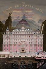 POSTER THE GRAND BUDAPEST HOTEL (2014) WES ANDERSON - VERSION USA