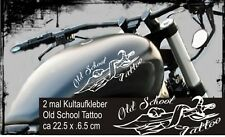 Tankaufkleber Old School Motive1 ,Tribal ,Aufkleber Motorrad,Chopper,Tattoo