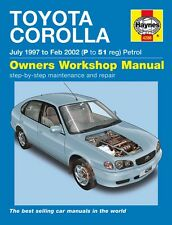 Haynes Owners Workshop Manual Toyota Corolla Petrol (97-02) SERVICE REPAIR