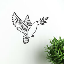 Dove of peace With Olive Branch Sticker vector image Birds Peace  Vinyl Wall Art