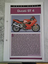 DUCATI ST 4 collector file fact sheet.