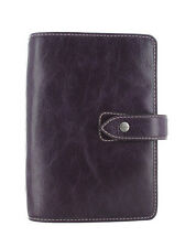 Filofax Malden Personal Size Purple Buffalo Leather Organiser Diary 425850