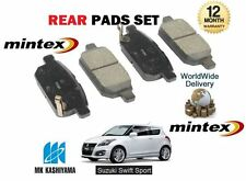 FOR SUZUKI SWIFT 1.6 SPORT M16A  2011-  NEW REAR DISC BRAKE PADS SET
