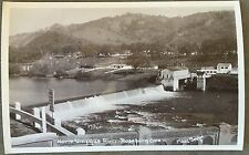 RPPC Oregon OR Roseburg North Umpqua River Dam Homes Farmland Circa 1930s