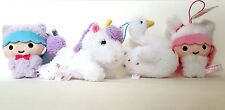 Sanrio Little Twin Stars Animal Costume Mascot Plush Set of 4 FuRyu Kiki Lala